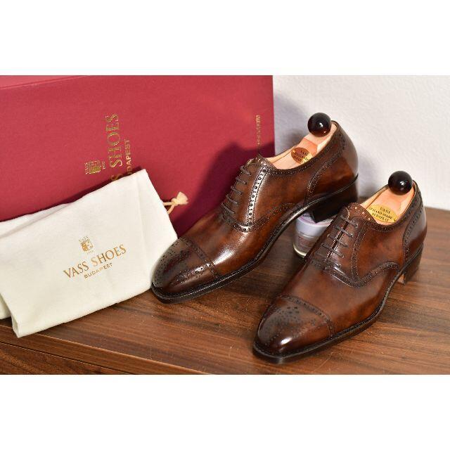 EDWARD GREEN(エドワードグリーン)の【新品】VASS EUR39.5 24.5〜25cm メンズの靴/シューズ(ドレス/ビジネス)の商品写真