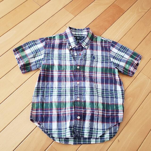 Ralph Lauren(ラルフローレン)のラルフローレン 半袖シャツ キッズ 110 キッズ/ベビー/マタニティのキッズ服男の子用(90cm~)(Tシャツ/カットソー)の商品写真