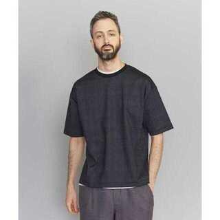 ビューティアンドユースユナイテッドアローズ(BEAUTY&YOUTH UNITED ARROWS)のBY チェック ポンチ ワイドフォルム Tシャツ(Tシャツ/カットソー(半袖/袖なし))