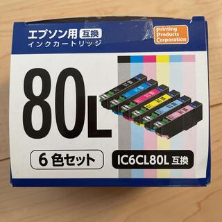 エプソン(EPSON)のNakabayashi PP-EIC80L-6P エプソン 互換性インク(その他)