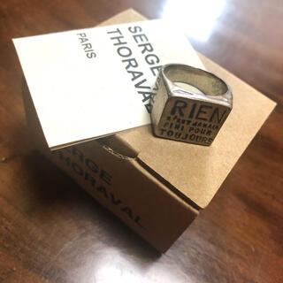アッシュペーフランス(H.P.FRANCE)のSERGE THORAVAL ゴールドリング RIEN セルジュトラヴァル(リング(指輪))