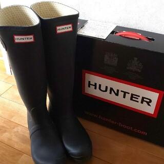 HUNTER - HANTER ハンターブーツ 黒 25cm