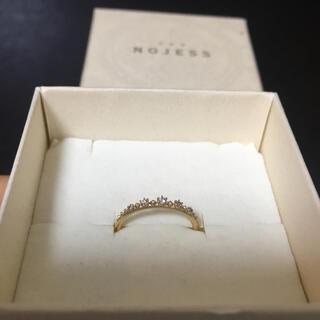ノジェス(NOJESS)のNOJESS ノジェス ダイヤ ピンキーリング 5号★アガットagate ere(リング(指輪))