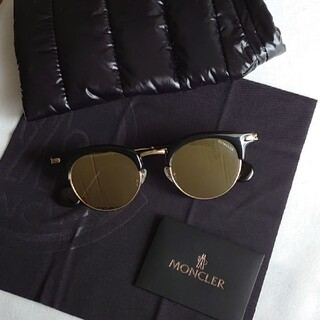 MONCLER - 新品 MONCLER LUNETTES モンクレール ボストン サングラス