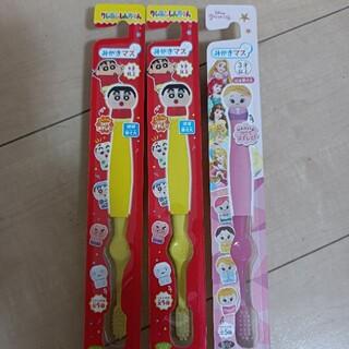 バンダイ(BANDAI)のみがきマス 歯ブラシ 3本セット(歯ブラシ/歯みがき用品)