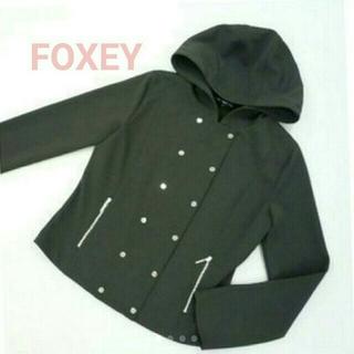フォクシー(FOXEY)のFOXEY NEWYORK フードジャケット40(パーカー)