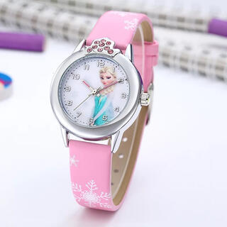 アナトユキノジョオウ(アナと雪の女王)のアナと雪の女王の腕時計☆ピンク 新品 SALE中❣️(腕時計)
