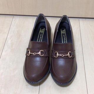 シマムラ(しまむら)のプチプラのあやさんしまむら ローファー Sサイズ(ローファー/革靴)