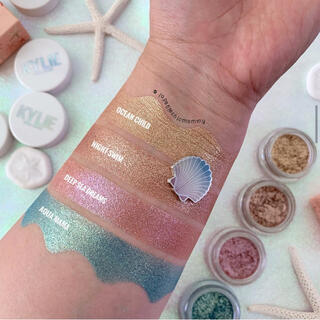 カイリーコスメティックス(Kylie Cosmetics)の夏限定4色アイシャドウShimmer Eye Glaze Bundle(アイシャドウ)