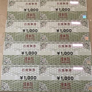 鳥貴族 株主優待券 8000円分(レストラン/食事券)