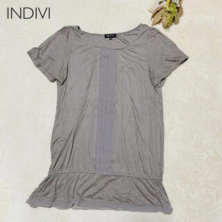 インディヴィ(INDIVI)のカットソーINDIVI(カットソー(半袖/袖なし))