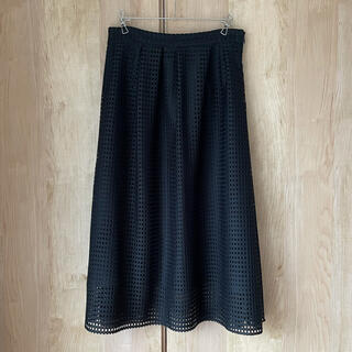 ラウンジドレス(Loungedress)のLoungedress タックミモレスカート(ひざ丈スカート)