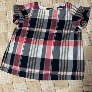 バーバリーブルーレーベル(BURBERRY BLUE LABEL)のバーバリー   チェックシャツ(シャツ/ブラウス(半袖/袖なし))