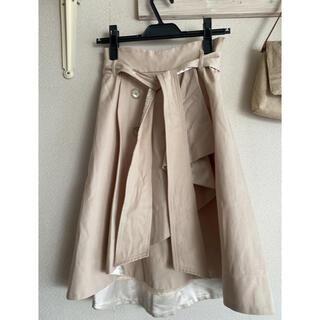 ウィルセレクション(WILLSELECTION)のウィルセレクション トレンチスカート(ひざ丈スカート)