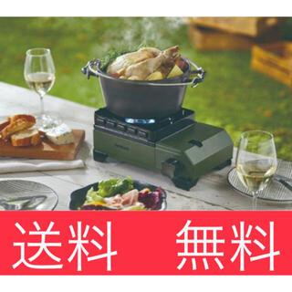 イワタニ(Iwatani)のイワタニ タフまるジュニア CB-ODX-JR 新品未使用(ストーブ/コンロ)