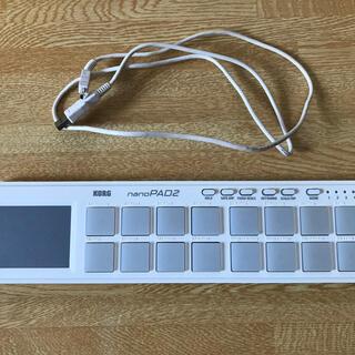 コルグ(KORG)のKORG nanoPAD2(MIDIコントローラー)