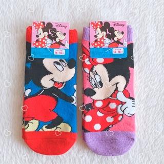 Disney - ♥ミッキー 𝐚𝐧𝐝 ミニー♥新品♥子供用 くつした♥