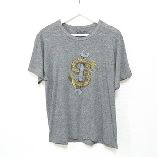 パウエル(POWELL)のM サルバービア SLBARBIER Tシャツ SAL23 スネーク USA製(Tシャツ/カットソー(半袖/袖なし))