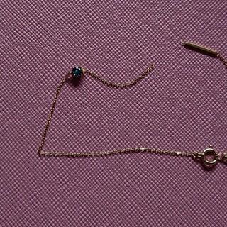 イーエム(e.m.)のe.m K18 ブルーダイヤモンド ブレスレット(ブレスレット/バングル)