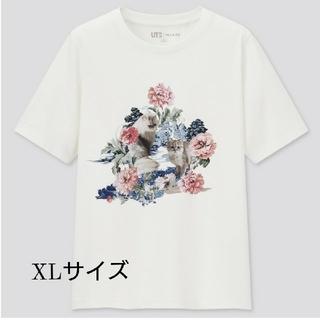 ポールアンドジョー(PAUL & JOE)の新品未使用 ユニクロ PAUL & JOE ポール&ジョー XL アイボリー(Tシャツ(半袖/袖なし))