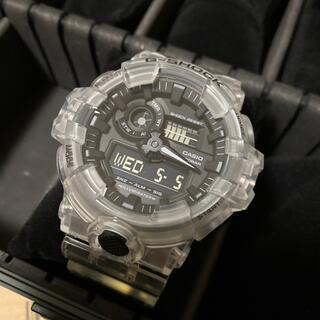 ジーショック(G-SHOCK)のCASIO Gショック GA700SKE-7AJF 未使用品 付属品完備(腕時計(アナログ))