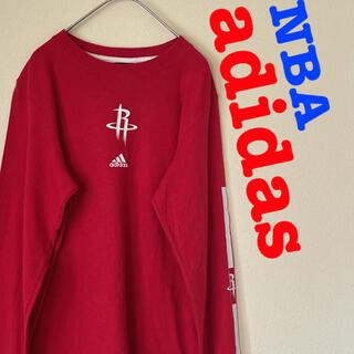 アディダス(adidas)のadidas アディダス NBA ヒューストン ロケッツ ロンT Tシャツ(Tシャツ(長袖/七分))