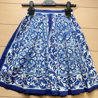 ドルチェアンドガッバーナ(DOLCE&GABBANA)のDolce&Gabbana  スカート マヨリカ(ひざ丈スカート)