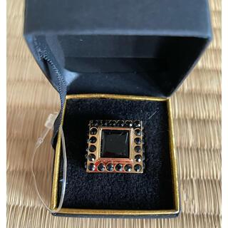 アッシュアンドダイアモンド(ASH&DIAMONDS)のASH&DIAMONDのオニキスの指輪(リング(指輪))