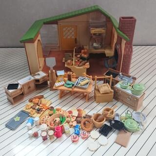 エポック(EPOCH)のシルバニアファミリー パン屋さん&キッチンセット(ぬいぐるみ/人形)