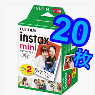 フジフイルム(富士フイルム)の【新品未使用】チェキフィルム 20枚 instax mini(その他)