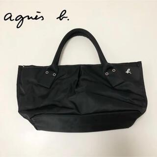 agnes b. - 【agnes b.|アニエスベー】ブランドロゴ  ハンドバッグ