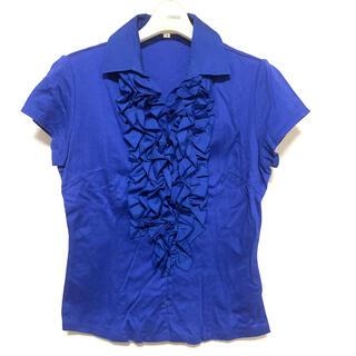 ナラカミーチェ(NARACAMICIE)の美品 NARACAMICIE フリルカットソー(シャツ/ブラウス(半袖/袖なし))