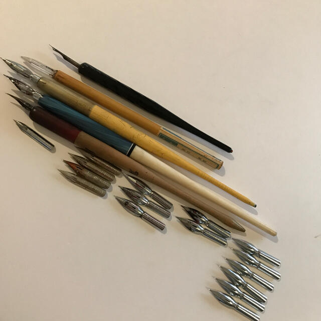 NIKKO(ニッコー)の漫画用ペンとペン先 エンタメ/ホビーのアート用品(コミック用品)の商品写真