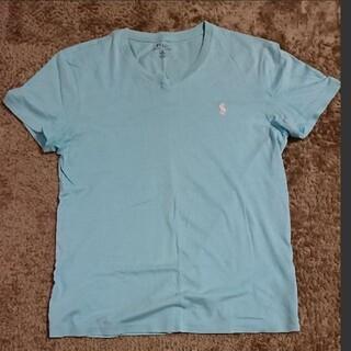 ポロラルフローレン(POLO RALPH LAUREN)のポロラルフローレン半袖 Sサイズ水色(Tシャツ/カットソー(半袖/袖なし))