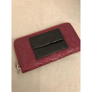 エムエムシックス(MM6)のMM6 パイソン エンボスウォレット(財布)