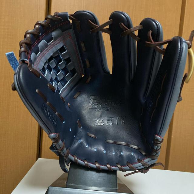 プロステイタス 軟式用オーダーグローブ スポーツ/アウトドアの野球(グローブ)の商品写真