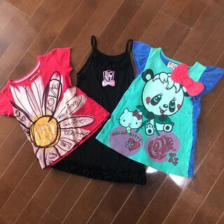 デシグアル(DESIGUAL)の夏服 3枚セット(Tシャツ/カットソー)