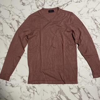 ザラ(ZARA)のZARA ザラ BASIC ベーシック Vネック セーター Mサイズ(ニット/セーター)
