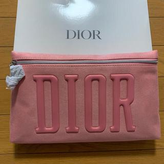 Dior - Dior ポーチ ピンク クラッチ スエード調