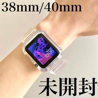 Apple Watch ベルト アップルウォッチ 透明 韓国雑貨 クリアバンド