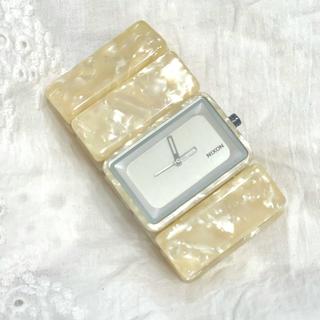ニクソン(NIXON)のNIXON VEGA WHITE GRANITE(腕時計)