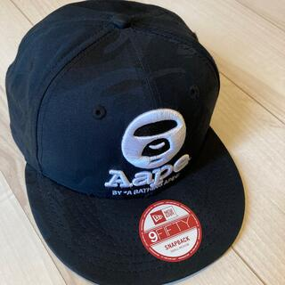 A BATHING APE - AAPE BY A BATHING APE エイプ◆ロゴ キャップ