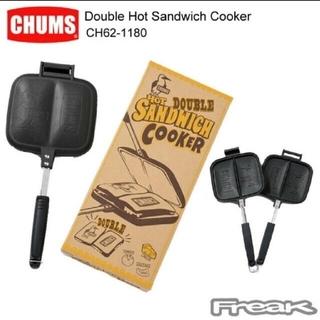 チャムス(CHUMS)のCHUNMS チャムス/ダブルホットサンドイッチクッカー/CH62-1180(サンドメーカー)