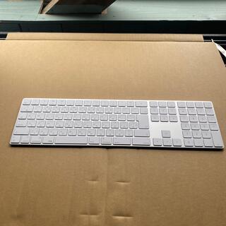アップル(Apple)のアップル マジックキーボード 10キー付き ワイヤレス(PC周辺機器)
