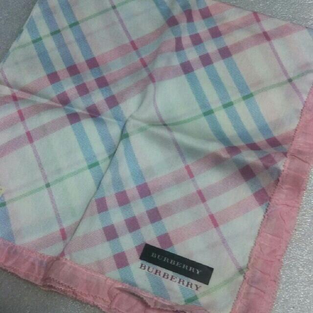 BURBERRY(バーバリー)の値下げ📌バーバリー☆大判ハンカチ レディースのファッション小物(ハンカチ)の商品写真