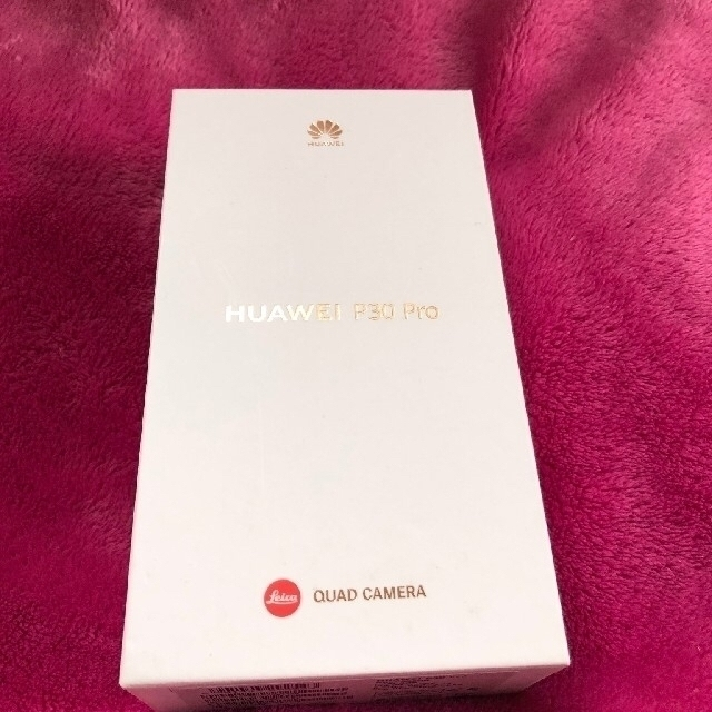 HUAWEI(ファーウェイ)のP30pro   VOGーL29  グローバル版 aurora スマホ/家電/カメラのスマートフォン/携帯電話(スマートフォン本体)の商品写真