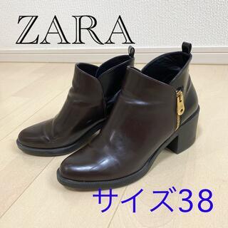 ZARA - ZARA  2トーンショートブーツ サイズ38