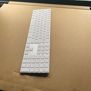 アップル(Apple)のアップル マジックキーボード10キー付き ワイヤレス(PC周辺機器)