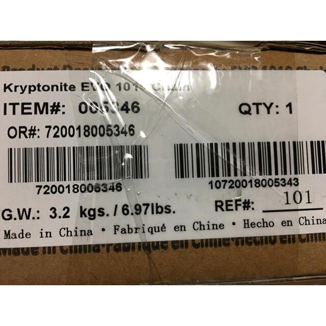 Supreme(シュプリーム)のSupreme Kryptonite Integrated Chain スポーツ/アウトドアの自転車(パーツ)の商品写真
