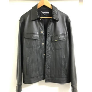 Supreme - supreme leather tracker jacket